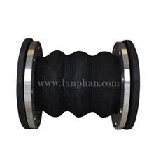 Flexible Three Bellows Rubber Expansion Joint